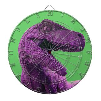 Purple Dinosaur Target Dartboard