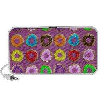 Purple Donut Lot Mini Speaker