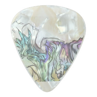 Purple Door Pearl Celluloid Guitar Pick