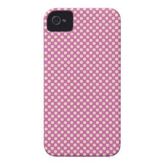 Purple Dots Design Case Mate ID iPhone 4 Case