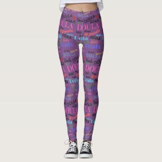 Purple Doula Leggings