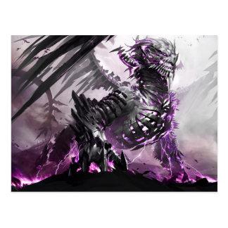 Purple Dragon 5 Postcard