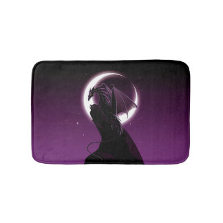 Purple Dragon Bath Mats