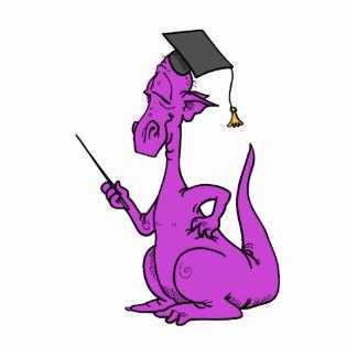 Purple Dragon Graduate Acrylic Cut Out