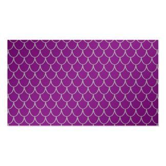 Purple dragon scales business card