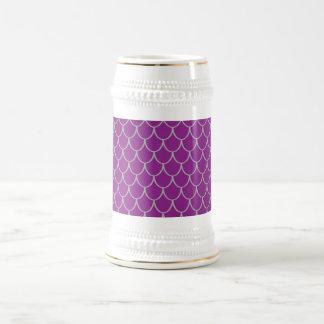 Purple dragon scales coffee mug