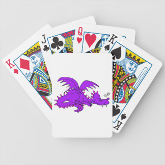 Purple Dragon Sleeping png Bicycle Playing Cards