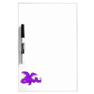 Purple Dragon Sleeping.png Dry-Erase Whiteboards