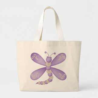 Purple Dragonfly Bag