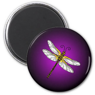 Purple Dragonfly Dragonflies Magnet