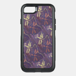 purple dragonfly phone case