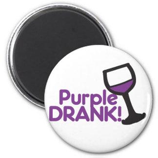 Purple Drank 6 Cm Round Magnet