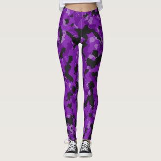 Purple Drank Camo Leggings