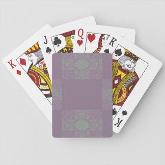 Purple Dreadlocks Playing cards