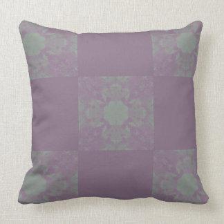 Purple Dreadlocks  Square Pillow