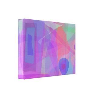 Purple Dream Stretched Canvas Prints
