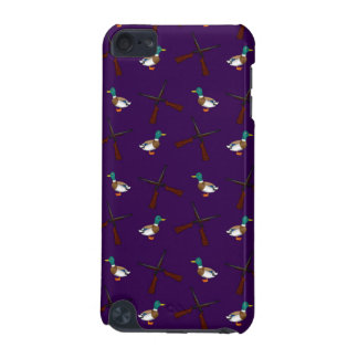 purple duck hunting pattern iPod touch 5G case
