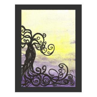 Purple Dusk Postcards
