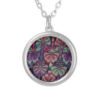 Purple, Dusty Rose & Green Custom Necklace
