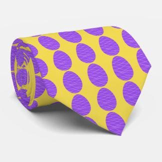 Purple Easter Eggs Tie