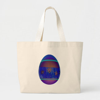 Purple Egg Jumbo Tote Bag