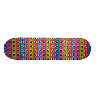 purple eggs 8x21 collage 20.6 cm skateboard deck
