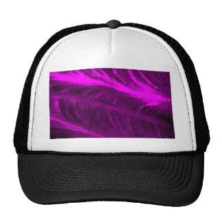 Purple Elephant Ear Textured Look Cap