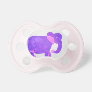 Purple Elephant Pacifier
