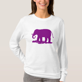 Purple Elephant T-Shirt