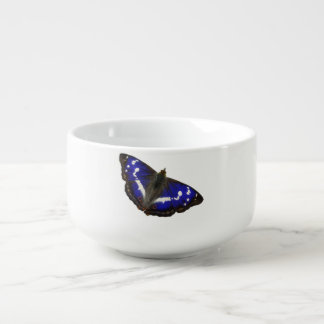 Purple Emperor Butterfly Soup Mug