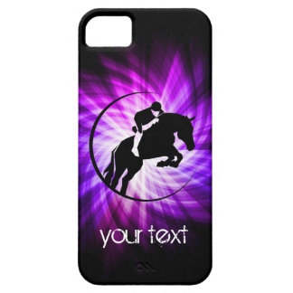 Purple Equestrian Case For The iPhone 5