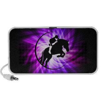 Purple Equestrian Notebook Speaker
