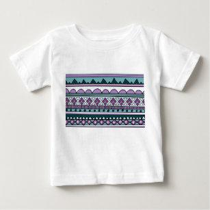 Purple ethnic pattern baby T-Shirt