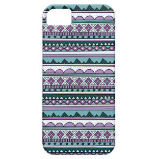 Purple ethnic pattern iPhone 5 cover