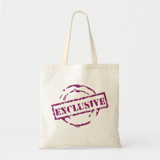 purple exclusive seal tote bags
