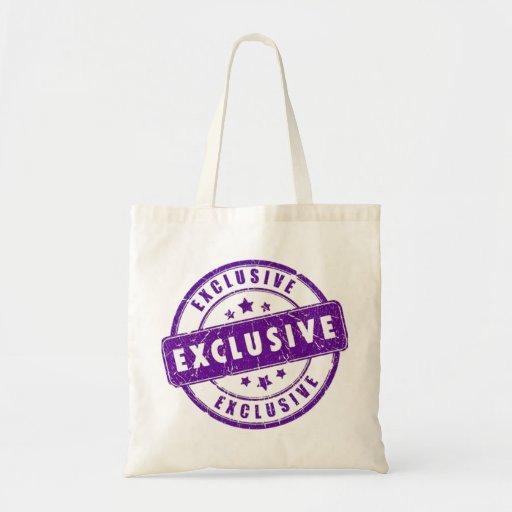 purple exclusive seal bag
