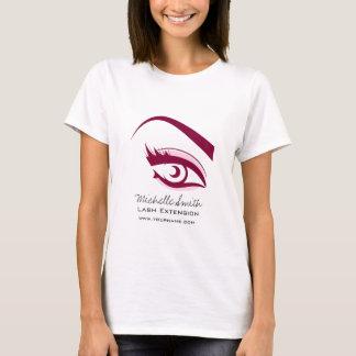 Purple Eye long eyelashes Lash extension  icon T-Shirt