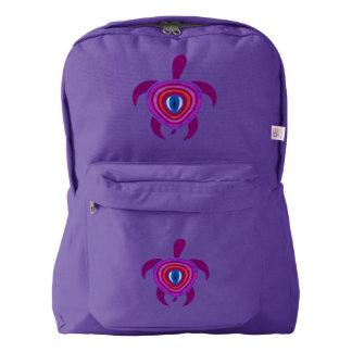 Purple Eye Turtle Backpack