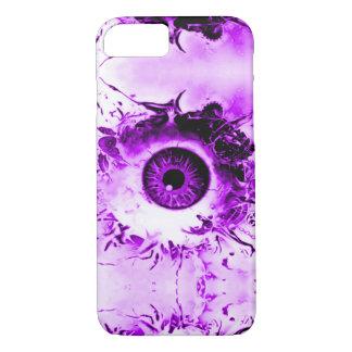 Purple Eye Watcher Horror Show iPhone 7 Case