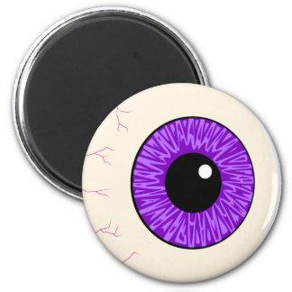 purple eyeball magnets
