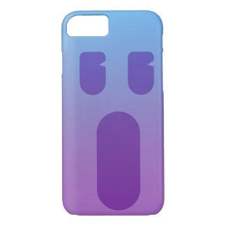 Purple Face iPhone 8/7 Case