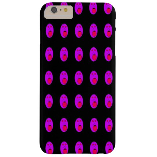Purple face phonecase barely there iPhone 6 plus