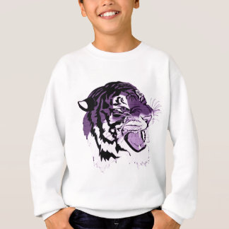 Purple Faced Tiger Sweatshirt