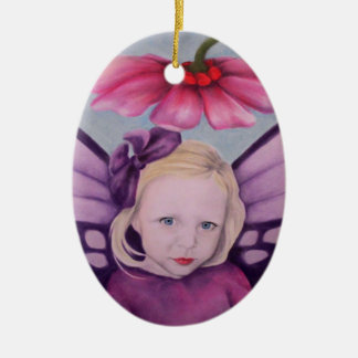 Purple Fairy Christmas Ornament