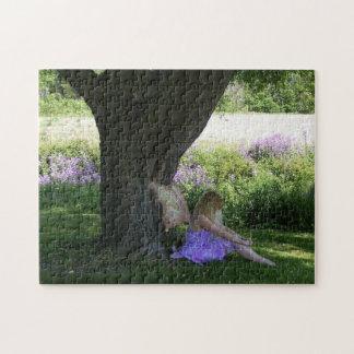 Purple Fairy Jigsaw Puzzle