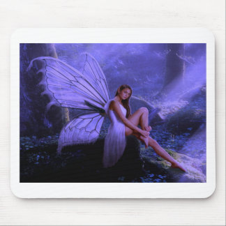 Purple Fairy Mouse Mat