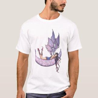Purple Fairy on Moon T-Shirt