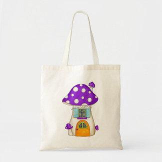Purple Fairy Toadstool Bag