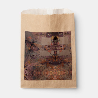 Purple Fantasy Flying Autumn Favour Bags