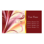 Purple Fantasy, profile card Pack Of Standard Business Cards